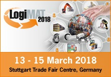 Invitation to PRESS EVENT at 16th LogiMAT Tuesday, March 13, 2018 | Messe Stuttgart