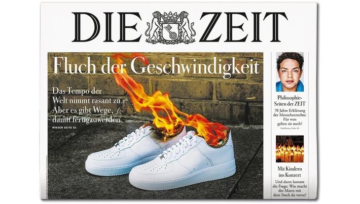 DIE ZEIT 52/18. Weiterer Text ber ots und www.presseportal.de/nr/9377 / Die Verwendung dieses Bildes ist fr redaktionelle Zwecke honorarfrei. Verffentlichung bitte unter Quellenangabe: