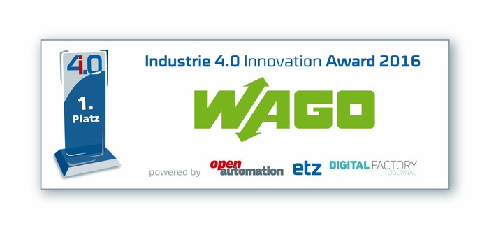 "WAGO gewinnt ""Industrie 4.0 Innovation Award"""