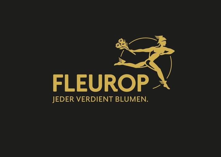 Fleurop-Logo.  Bild: Fleurop AG