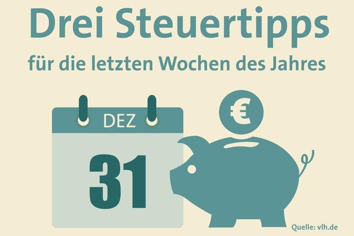 Der Steuer-Countdown zum Jahresende