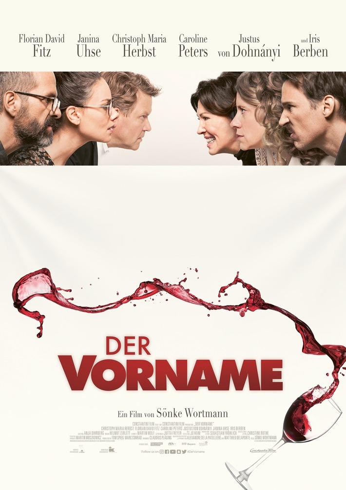 """DER VORNAME / Weiterer Text über ots und www.presseportal.de/nr/12946 / Die Verwendung dieses Bildes ist für redaktionelle Zwecke honorarfrei. Veröffentlichung bitte unter Quellenangabe: """"obs/Constantin Film"""""""