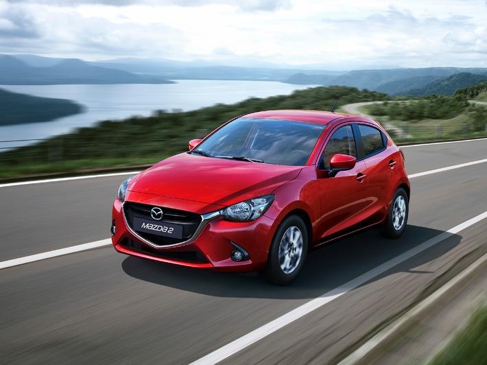 Der neue Mazda2: Premium-Auftritt zu attraktiven Preisen