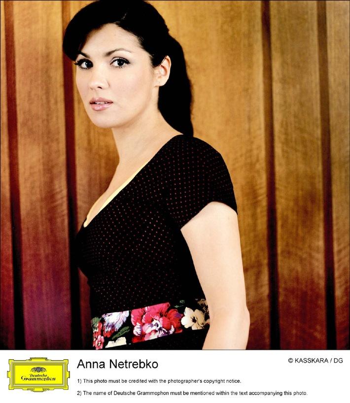 """Anna Netrebko bei """"Echo der Stars"""" im ZDF"""