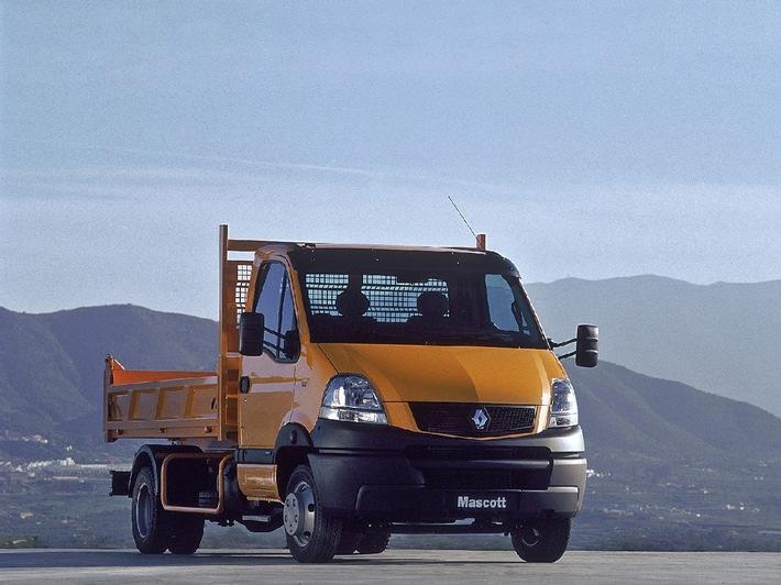 Renault Trucks lance le nouveau Renault Mascott, un vrai petit camion