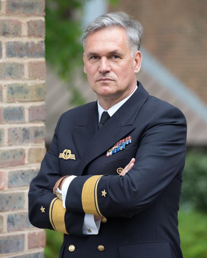 Flottillenadmiral Kay-Achim Schönbach (52) gibt das Kommando über die MSM ab