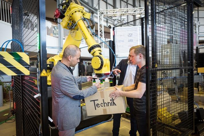 Logistik - Innovation, die begeistert / Bei Unternehmen in ganz Deutschland kostenfrei die Logistik entdecken