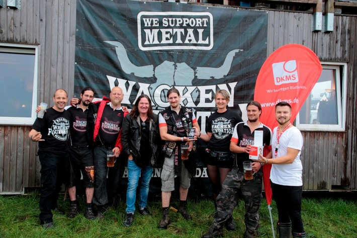 DKMS und Wacken Foundation 2016