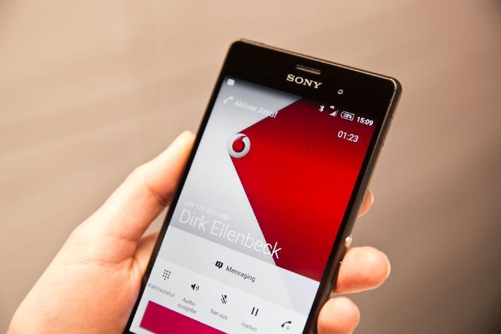 Besser telefonieren: Vodafone rollt Voice over LTE Technologie bundesweit aus