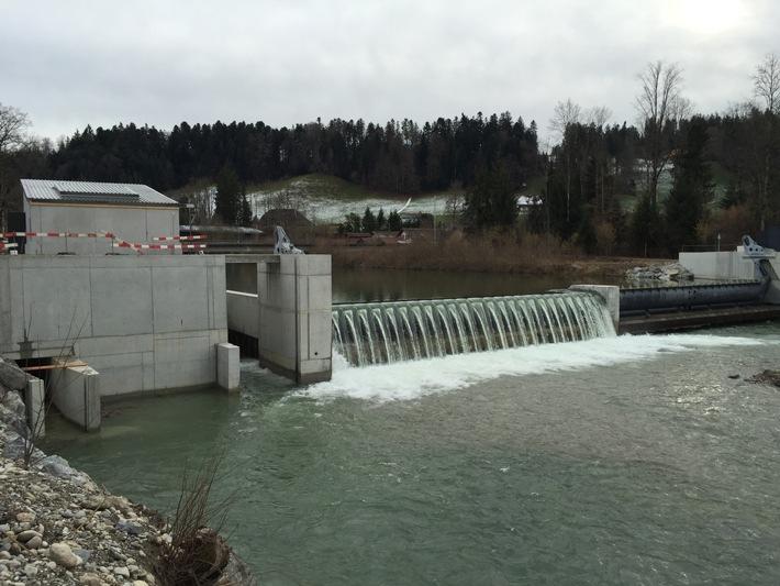 Inbetriebnahme: Wasserkraftwerk Gohlhaus am Netz