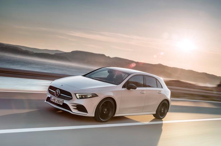 Die neue Mercedes-Benz A-Klasse: Der Massstab in der Kompaktklasse