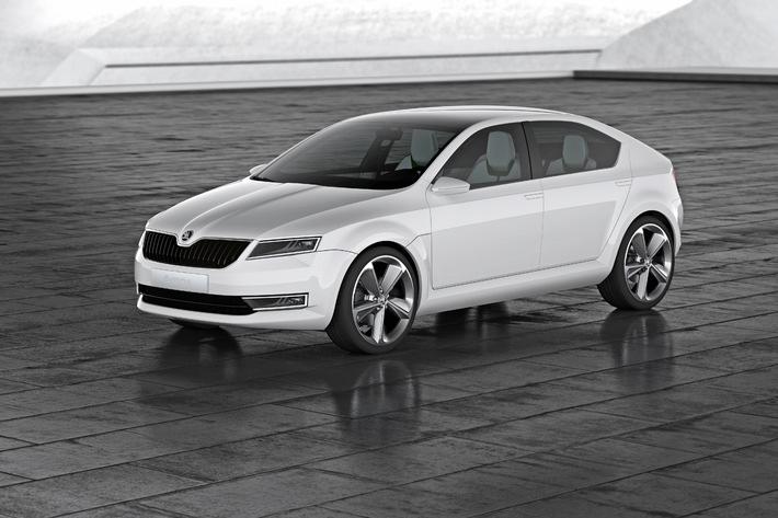 """Skoda zeigt Showcar """"VisionD"""" und neues Corporate Design (mit Bild)"""