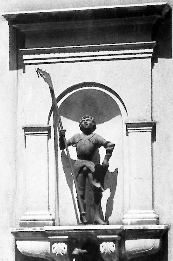 POL-MFR: (754) Diebstahl einer Bronzefigur