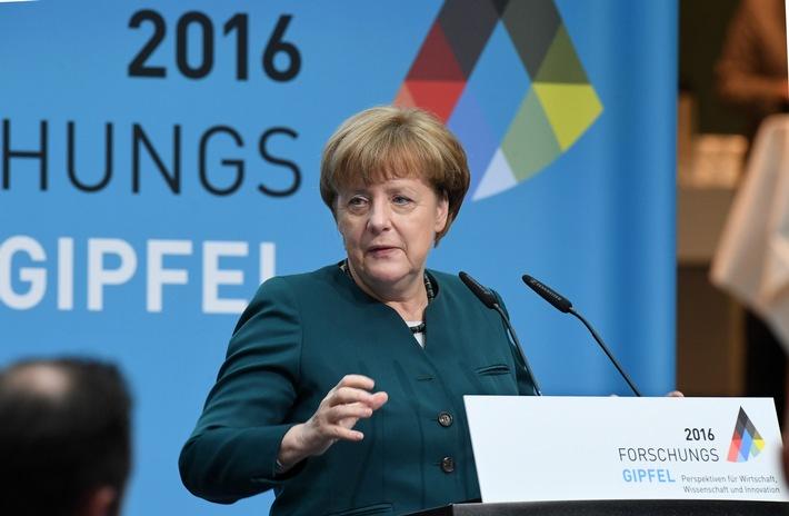 """Merkel beim Forschungsgipfel zur Digitalisierung: """"Die Schlacht ist noch nicht geschlagen"""""""