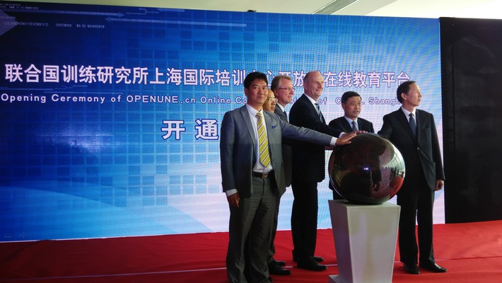 Vereinte Nationen starten mit Hasso-Plattner-Institut in China neue Online-Bildungsplattform