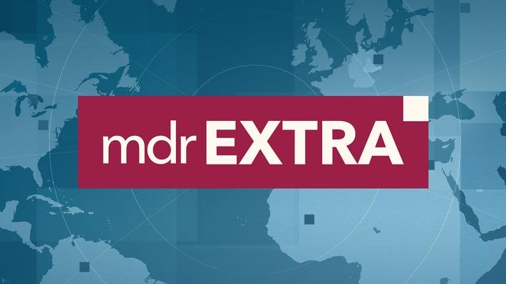 MDR extra - Logo / Weiterer Text über ots und www.presseportal.de/nr/7880 / Die Verwendung dieses Bildes ist für redaktionelle Zwecke unter Beachtung ggf. genannter Nutzungsbedingungen honorarfrei. Veröffentlichung bitte mit Bildrechte-Hinweis.