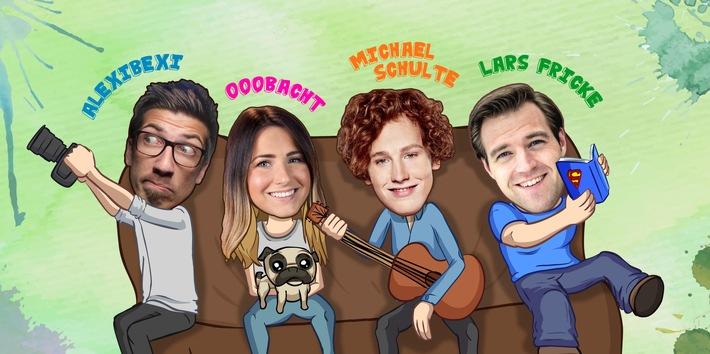 ZDFneo dreht Sketch-Comedy-Serie mit Gewinner-Team des TVLab 2015