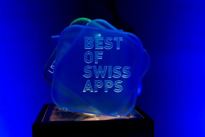 """Am 12. November werden zum dritten Mal die besten Apps der Schweiz ausgezeichnet. Ab sofort können Projekte in zwölf Kategorien eingereicht werden. Anmeldeschluss ist der 21. September 2015. Druckfähiges Bild: https://www.wetransfer.com/downloads/8d891a6ad47ef10cf5858874570afc1f20150630151716/3a427f. Weiterer Text über ots und www.presseportal.ch/de/nr/100055117 / Die Verwendung dieses Bildes ist für redaktionelle Zwecke honorarfrei. Veröffentlichung bitte unter Quellenangabe: """"obs/Best of Swiss Apps"""""""