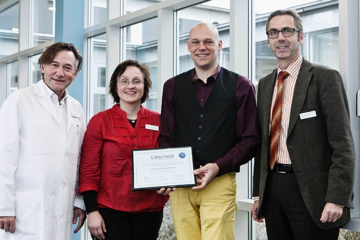 Reha Rheinfelden vergibt ersten Forschungspreis (BILD)