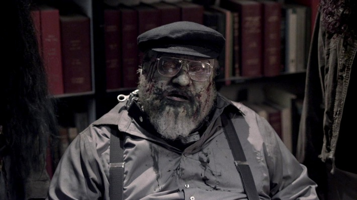 """Game Of Thrones""-Autor George R.R. Martin als Gaststar in der Zombieserie ""Z Nation"""