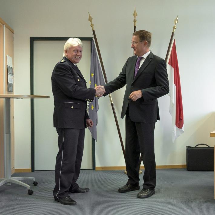 Gratulation an Jürgen Begere