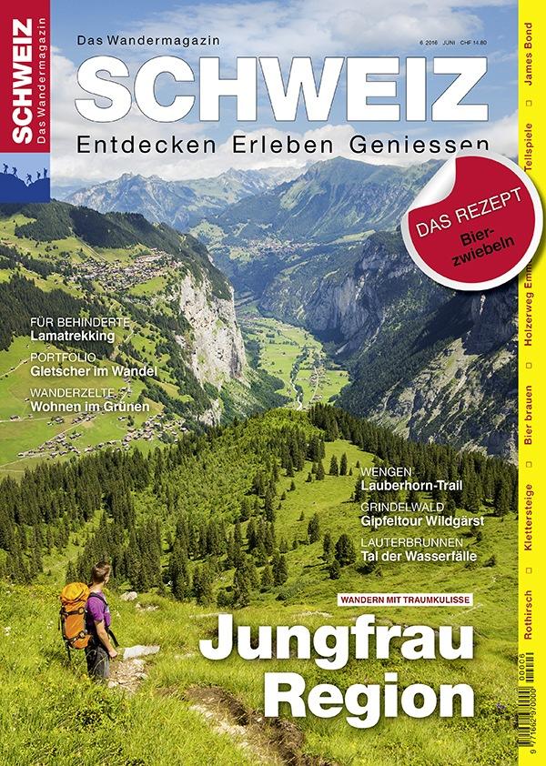 Jungfrau Region Wandern mit Traumkulisse