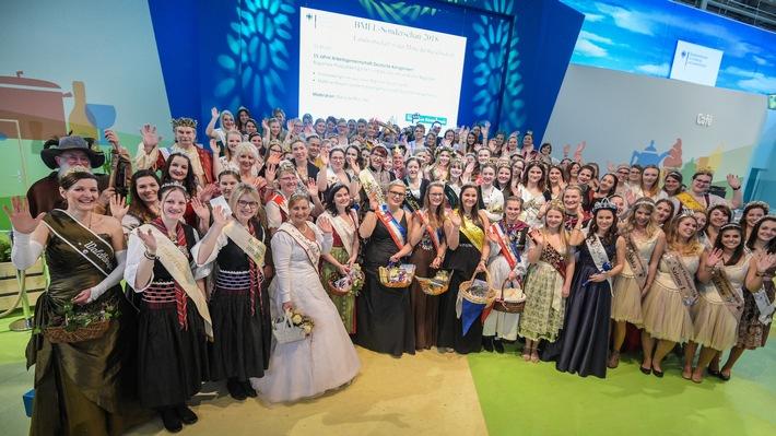 in Grüne Woche 2018: Über 100 Königliche Hoheiten geben sich die Ehre