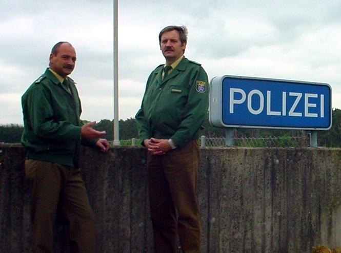 EPHK Jürgen Becker (links) und POK Klaus-Dieter Roßmann (rechts)
