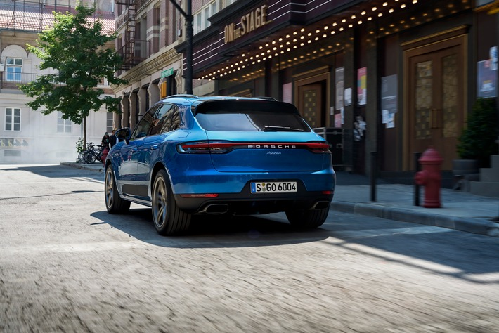 """Porsche Macan. Weiterer Text über ots und www.presseportal.ch/de/nr/100050872 / Die Verwendung dieses Bildes ist für redaktionelle Zwecke honorarfrei. Veröffentlichung bitte unter Quellenangabe: """"obs/Porsche Schweiz AG"""""""
