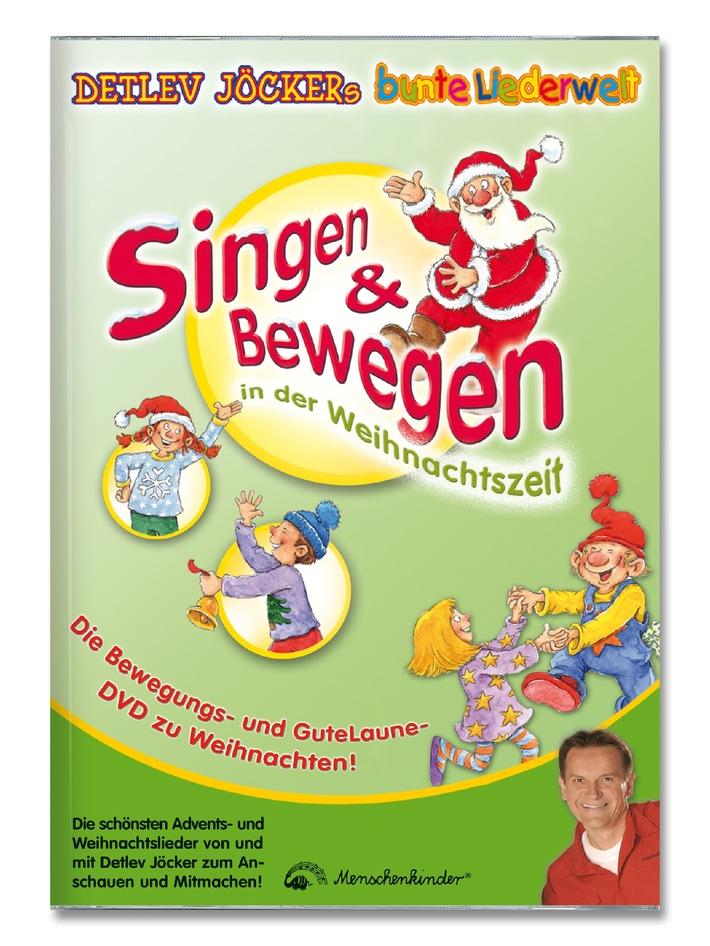 Aktuelle Weihnachtslieder.Weihnachtslieder Die Kinder Bewegen Neue Sing Und Tanz Dvd