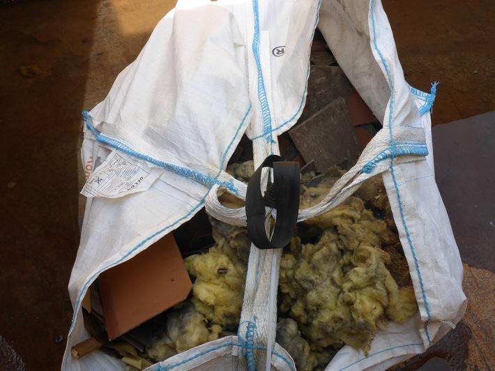 Inhalt Asbest, Mineralfaser