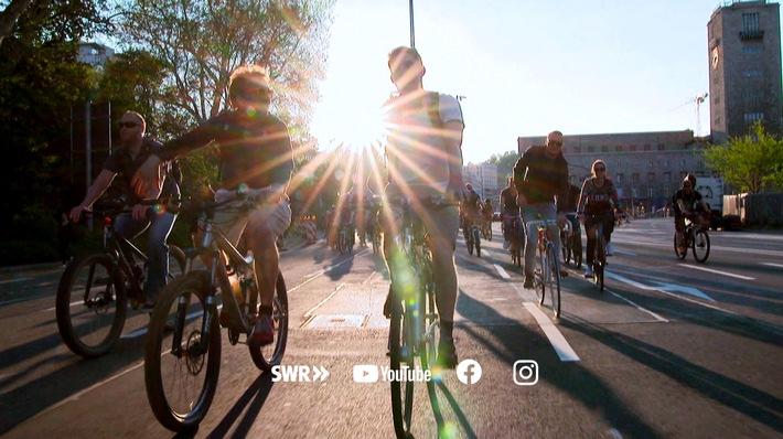 SÜDWESTRUNDFUNK #BesserRadfahren Radfahren liegt voll im Trend. © SWR, honorarfrei - Verwendung gemäß der AGB im engen inhaltlichen, redaktionellen Zusammenhang mit genannter SWR-Sendung und bei Nennung