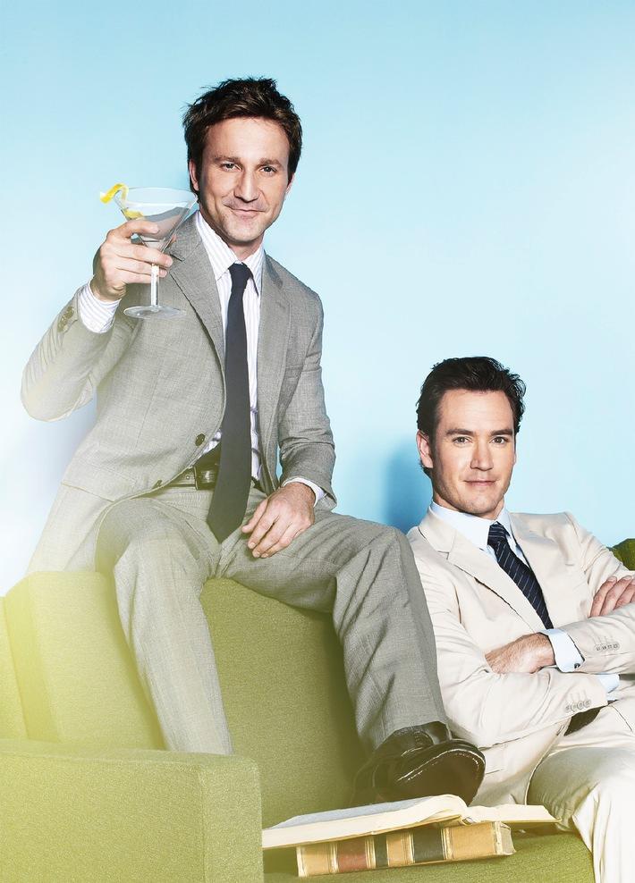 """Kulturschock in der Kanzlei: Die US-Anwaltsserie """"Franklin & Bash"""" ab 7. November 2014 als Deutschlandpremiere bei kabel eins"""