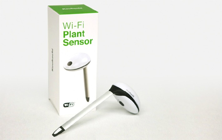 Koubachi Wi-Fi Pflanzensensor gibt der Pflanze eine Stimme
