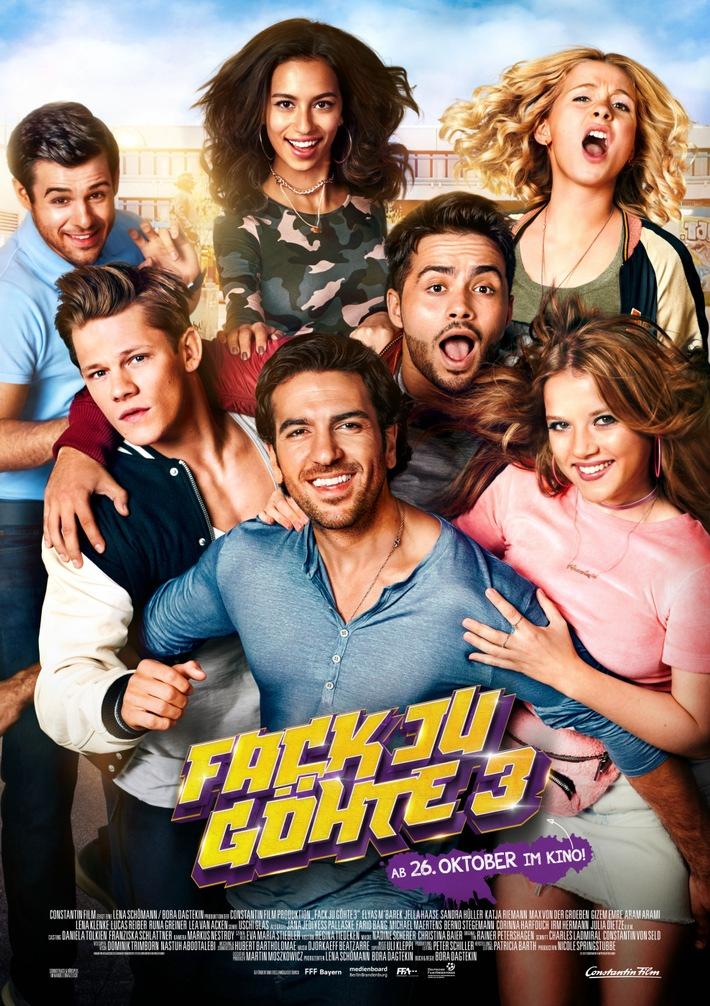 in FACK YEAH: FACK JU GÖHTE 3 ist erfolgreichster Film 2017!Knapp 6 Mio. Kinozuschauer feiern den #finalfack