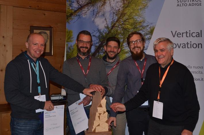 Disrupt the ski pass - Slopestars.cc gewinnt Innovationspreis bei Dolomiti Superski - BILD