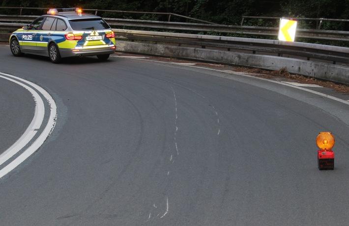 POL-RBK: Odenthal - junger Motorradfahrer verletzt