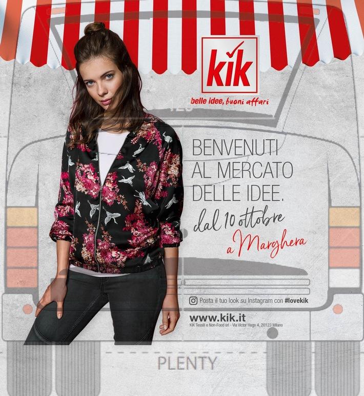 Pressemitteilung: KiK expandiert nach Italien