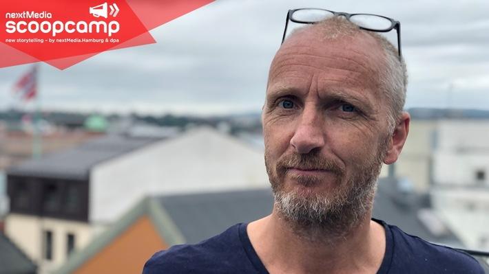 """scoopcamp 2019: Helge Birkelund (Amedia AS) als vierter Keynoter bestätigt. Weiterer Text über ots und www.presseportal.de/nr/8218 / Die Verwendung dieses Bildes ist für redaktionelle Zwecke honorarfrei. Veröffentlichung bitte unter Quellenangabe: """"obs/scoopcamp/dpa"""""""