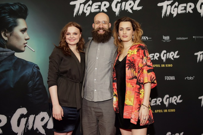 TIGER GIRL feiert Premiere in Berlin