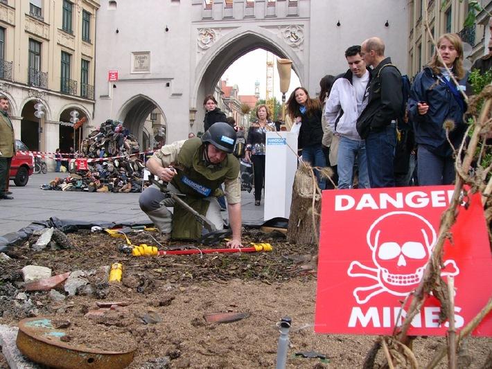 Wirkungsvolle Aktionen gegen Streubomben