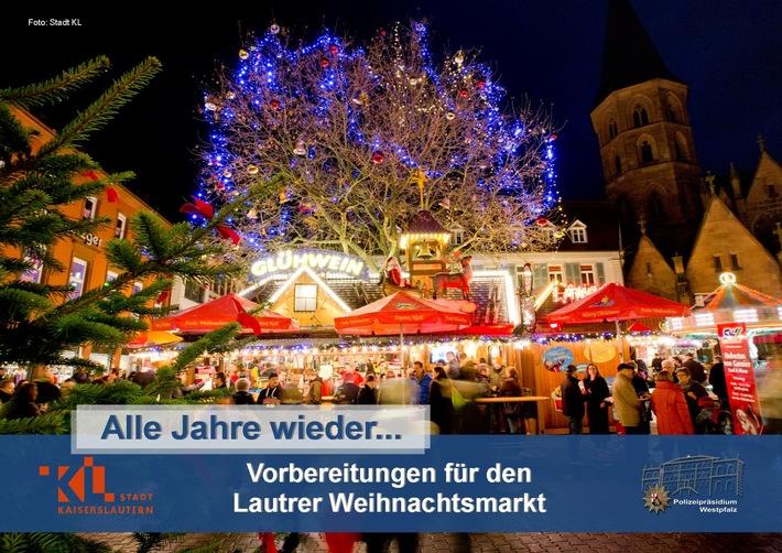 Am 27.11.2017 wird der Weihnachtsmarkt in Kaiserslautern eröffnet.