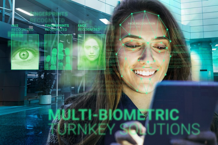 "DERMALOG's Automated Biometric Identification System (ABIS) enables the combination of various biometric characteristics, making identity fraud more difficult. Editorial use of this picture is free of charge. Please quote the source: ""obs/Dermalog Identification Systems GmbH"""