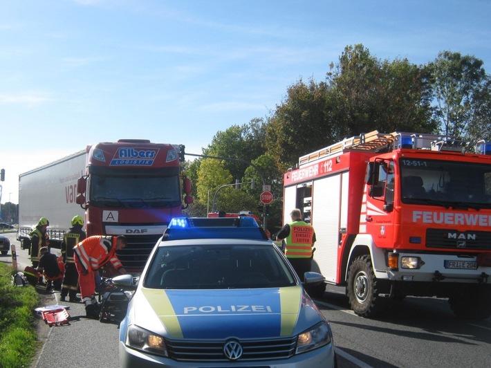 Bild der Unfallstelle