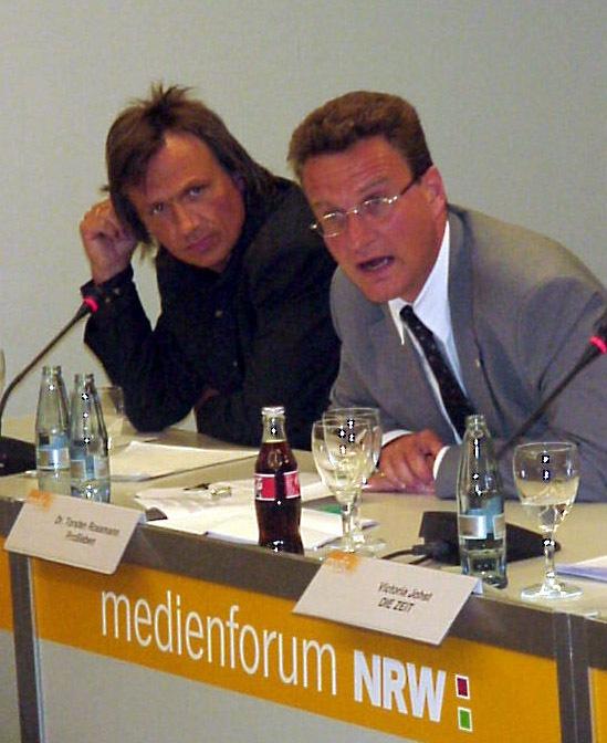 Erstes media coffee von news aktuell auf dem medienforum NRW