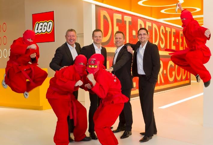 LEGO GmbH steigert Netto-Umsatz um 14,7 Prozent / Das Unternehmen ist Motor eines stark wachsenden Spielwarenmarkts (mit Bild)