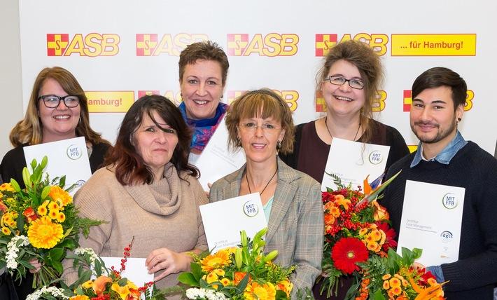 ASB Hamburg baut Kompetenz in der ambulanten Pflegeberatung aus