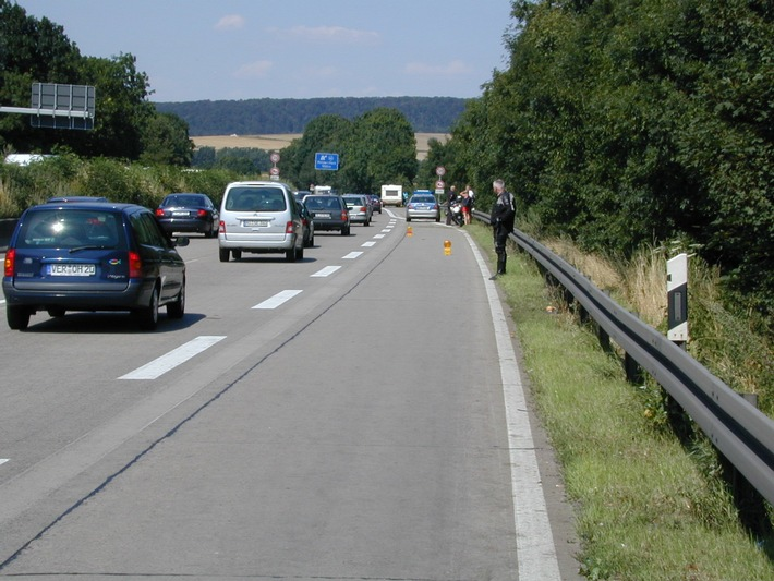 POL-HI: BAB 7, LK Goslar -- Kradunfall fordert einen Verletzten