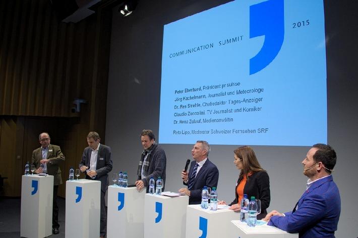 Communication Summit 2015: Fairness in Journalismus und PR (BILD)
