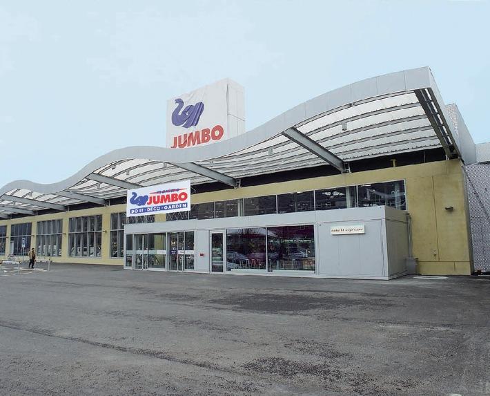 La filiale JUMBO di Bienne riduce il consumo elettrico del 15%